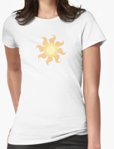 My little Pony - Princess Celestia Cutie Mark V3 Womens Fitted T-Shirt