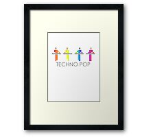 PIXEL8 | KRAFTWERK | TECHNO POP Framed Print