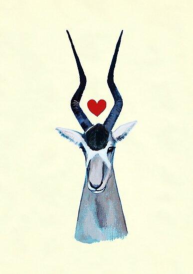 Addax in Love by NightBloomer