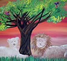 Lions Den  by EliseMarie