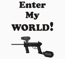 Paintball. Enter My World. BL. by DavidAtchley