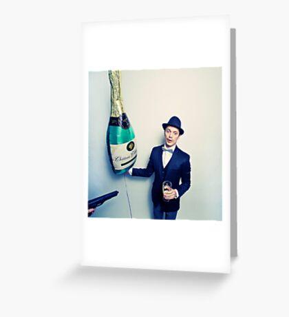 Champagne Mafia Greeting Card