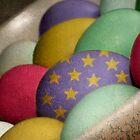 Arty Eggs by Amanda White