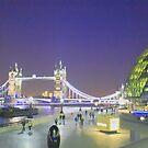 Tower Bridge night view by Arvind Singh