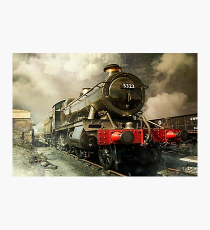 Steam Engine Photographic Print