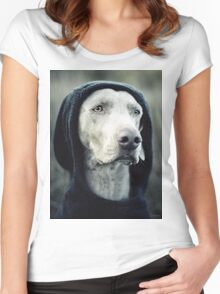"""The Dogside Project""  Women's Fitted Scoop T-Shirt"