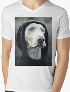 """The Dogside Project""  Mens V-Neck T-Shirt"