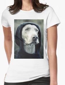 """The Dogside Project""  Womens Fitted T-Shirt"