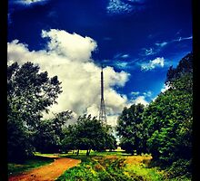 Alexandra Palace BBC Tower by lanesloo