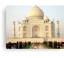 The Taj Mahal Landscape Canvas Print