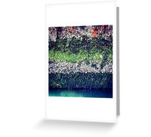 Rusty Boat Layers Greeting Card