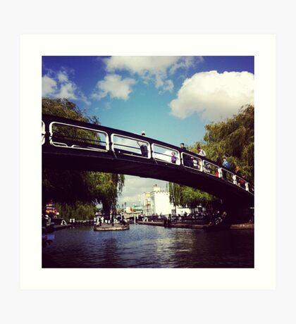 Camden Town Bridge Art Print