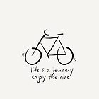 Life's A Journey - Enjoy The Ride by Pamela Shaw