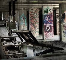 Urban Dereliction by Linda  Morrison