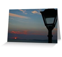 Sunset in Kerry Greeting Card