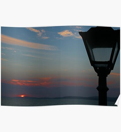 Sunset in Kerry Poster