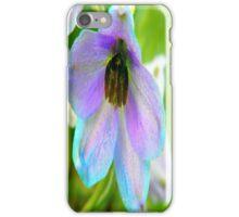 Blue Bell Macro iPhone Case/Skin