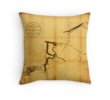 Canada, Western. 1801. Throw Pillow