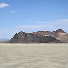 "The ""Black Rock"" at Black Rock Desert,outside Gerlach,Nevada,USA by Anthony & Nancy  Leake"