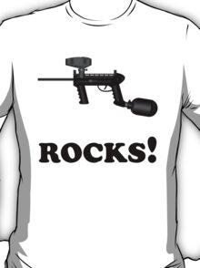 Paintball. ROCKS. BL. T-Shirt