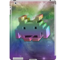 Rainbow Space Invader 3d. iPad Case/Skin