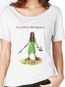 River Tam I Can Kill You With My Brain T-shirt Women's Relaxed Fit T-Shirt