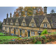 Chipping Norton Almshouses  Photographic Print