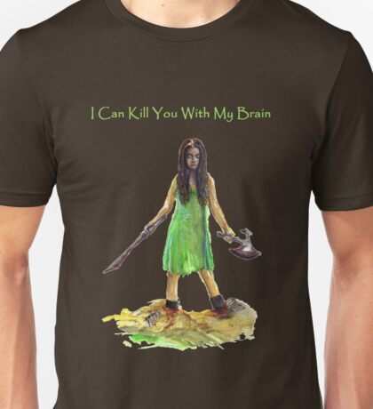 River Tam I Can Kill You With My Brain Dark Color T-shirts Version Unisex T-Shirt