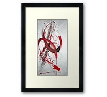 whirlpools of infinity Framed Print