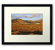 Looking back from Arrieta Framed Print