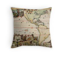 chatelain (america) The Dutch Beaver Derivative Throw Pillow