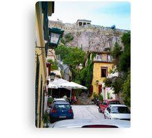 Grecian Alley Canvas Print