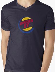 Bugger It Mens V-Neck T-Shirt