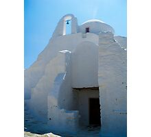 Grecian Church Photographic Print
