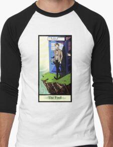Eleventh Doctor- The Fool Men's Baseball ¾ T-Shirt
