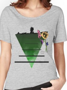 The Last Flowers of Winter Women's Relaxed Fit T-Shirt