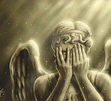 Peeping Angel by Kristofer Floyd