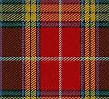 01807 Buchanan (Logan) Tartan Fabric Print Iphone Case by Detnecs2013