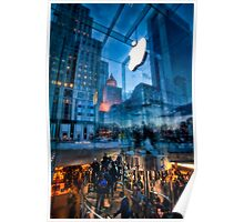 The Life below - 5th Ave Apple Store Poster