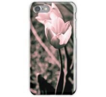 Split Tone Tulips iPhone Case/Skin