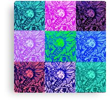 Nature Girl Quilt #9 Canvas Print