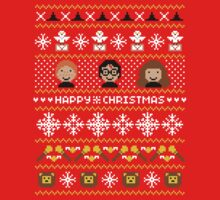 Magical Ugly Christmas Sweater + Card by rydiachacha