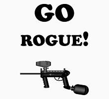 Paintball. Go Rogue. BL. Unisex T-Shirt