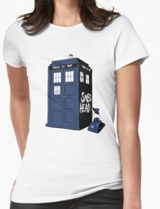 BAD SMEG HEAD Womens Fitted T-Shirt