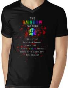 Rainbow Factory  Mens V-Neck T-Shirt