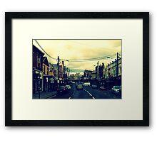 Inner City Suburb Framed Print
