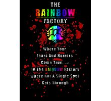 Rainbow Factory  Photographic Print