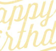 Happy 18th Birthday retro look - RAHMENLOS Sticker