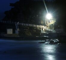 Long Night at the Bronte Rock Pool. by Steve Haynes  Photography