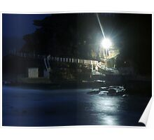 Long Night at the Bronte Rock Pool. Poster